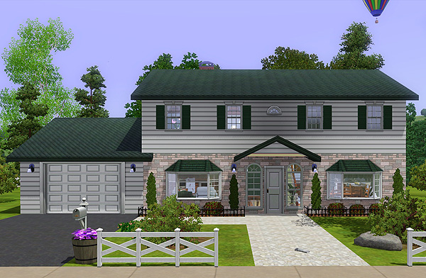 Sims 3 Houses. Sims 3. This house was